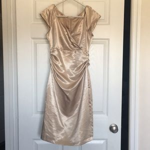 OPEN TO OFFERS 😊😊Gold Venus Dress